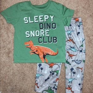 🔸KIDS 5/$20🔸Boys 2T  2-pc Dinosaur Pajamas